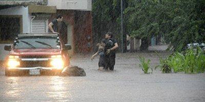 Lluvias en Sinaloa