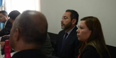 Mauricio López Bonilla en juicio del caso Blindados