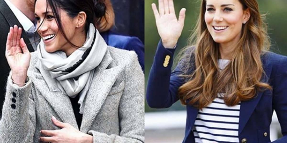 La ventaja de Meghan sobre Kate que prueba que es la preferida de la reina Isabel II