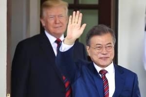 Este es el mensaje privado que el presidente surcoreano dirá a Trump