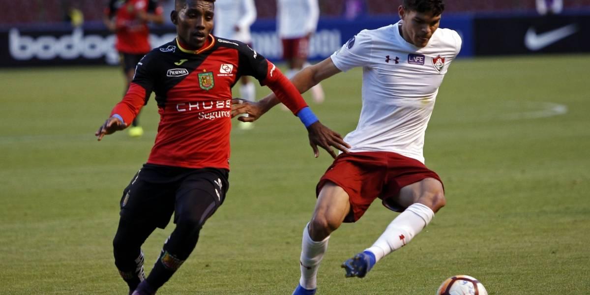 Copa Sudamericana: Deportivo Cuenca 0-2 cayó ante Fluminense