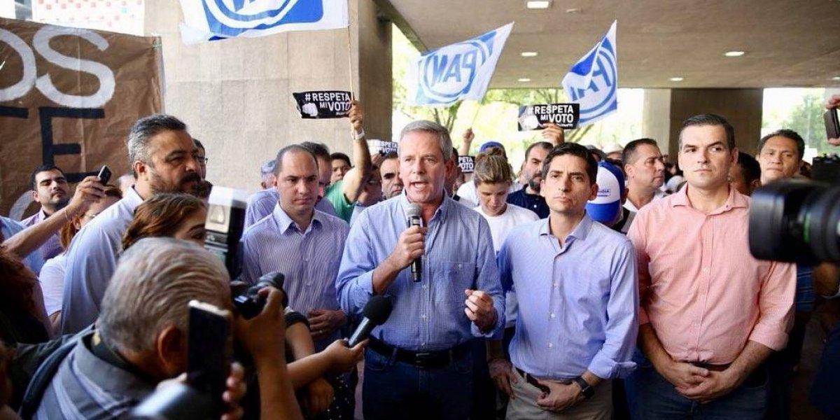 Presidente del PAN asegura que lucharán por Guadalupe y Monterrey