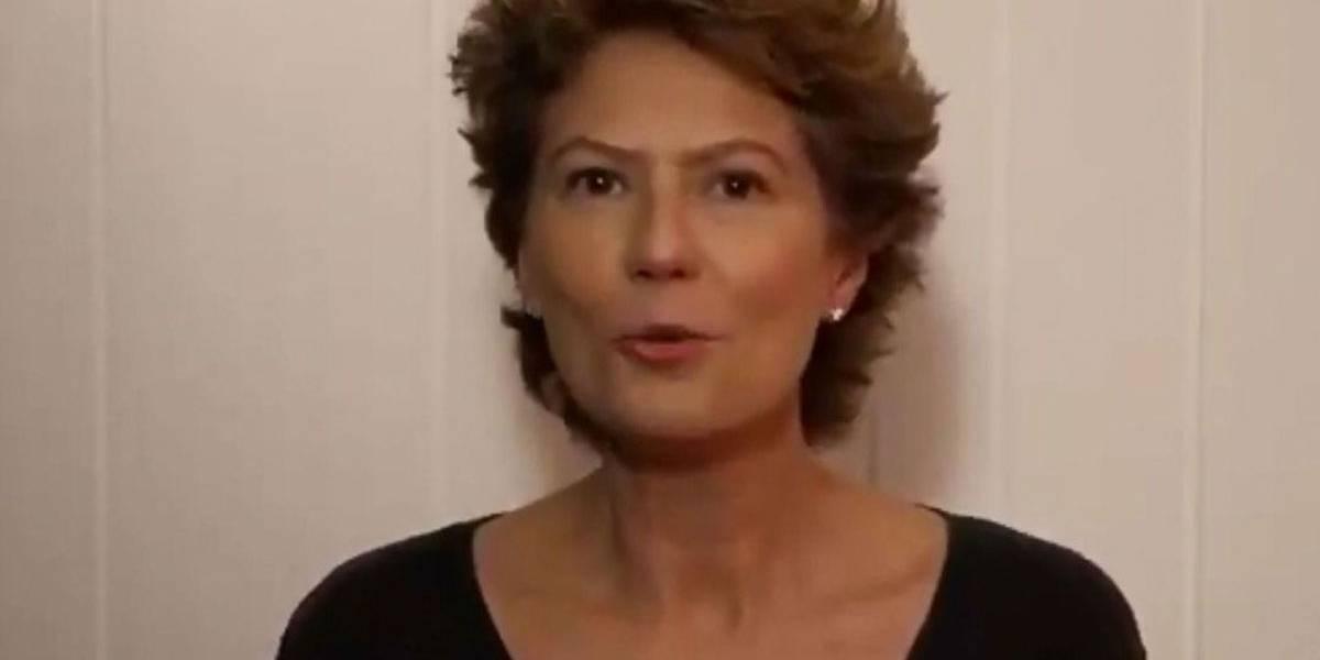 Patricia Pillar nega ter sido agredida e declara apoio a Ciro Gomes