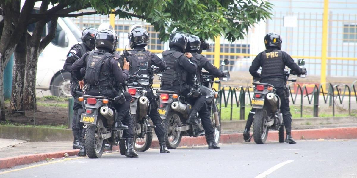 Autoridades implementan acciones de seguridad en el marco de la manifestación