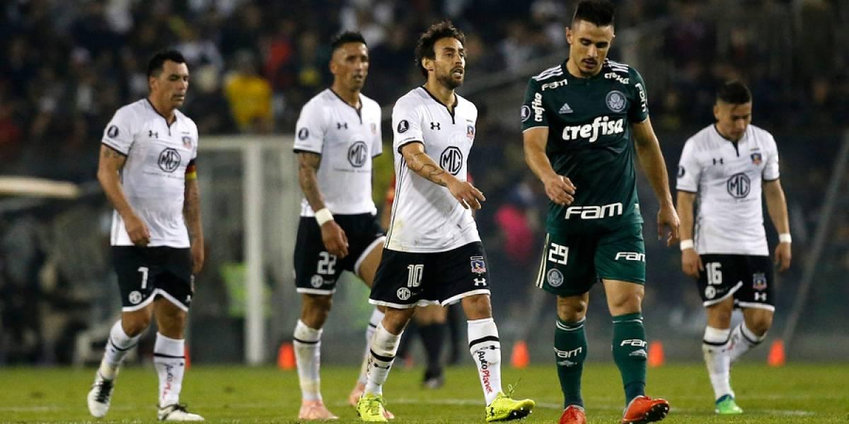 Uno a uno: un Colo Colo sin ritmo pecó de inocente y no pudo ante el pragmatismo de Palmeiras