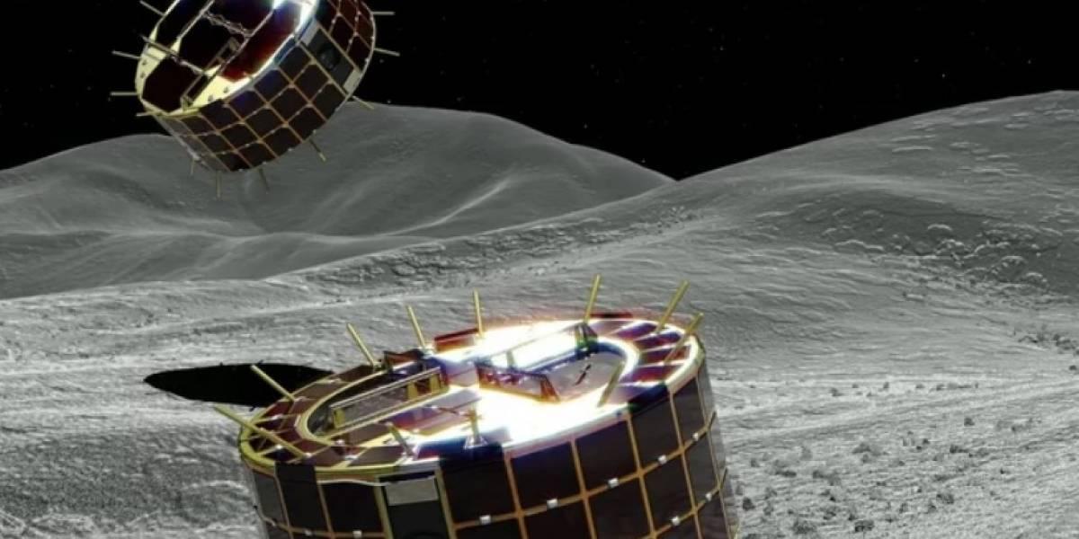 Japón pone dos robots sobre la superficie de un asteroide
