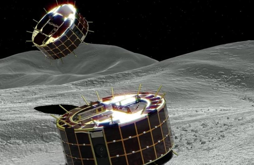 Todo listo para el despliegue de dos robots en el misterioso asteroide Ryugu