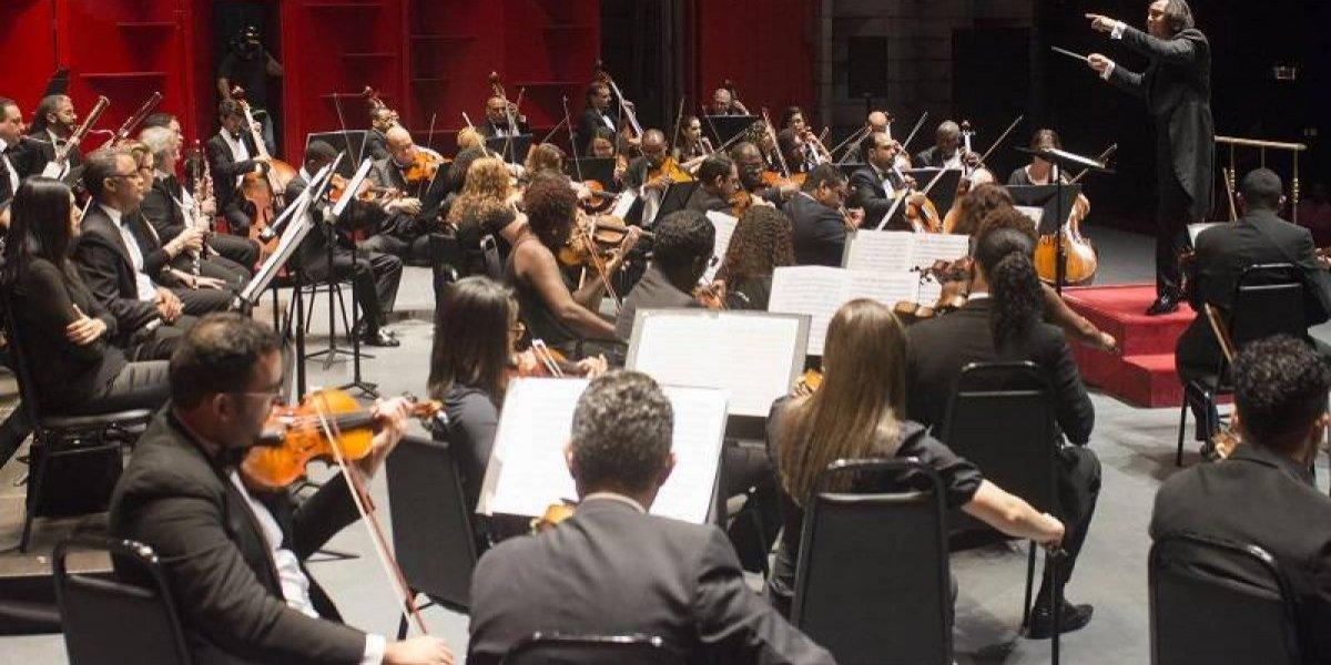 Trompetista José Sibaja, conquistó el aplauso del público en el tercer concierto de la temporada de la Orquesta Sinfónica Nacional