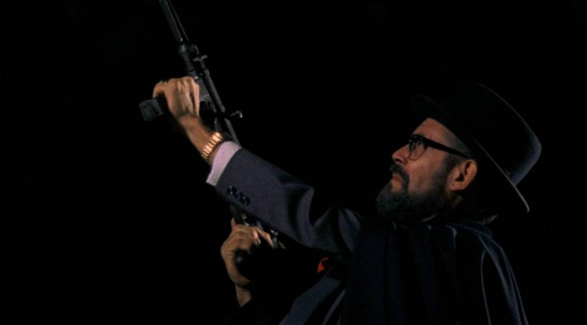 'O Homem da Capa Preta' (1986). Zé Wilker vive um temido político no filme de Sergio Rezende. Espaço Itaú Augusta (18h e 22h) Cinearte Petrobras (16h e 20h) | Reprodução