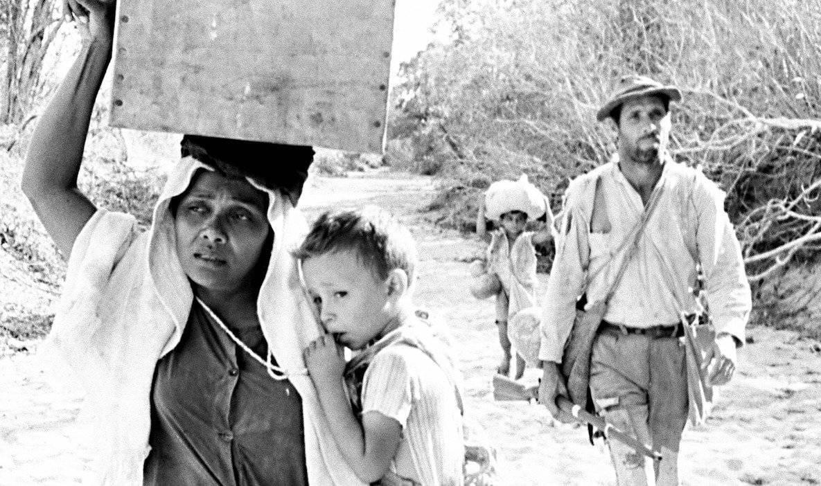 'Vidas Secas' (1963). Adaptação de Nelson Pereira dos Santos para livro de Graciliano Ramos é marco do Cinema Novo. Espaço Itaú Augusta (18h e 22h) Cinearte Petrobras (16h e 20h) | Reprodução