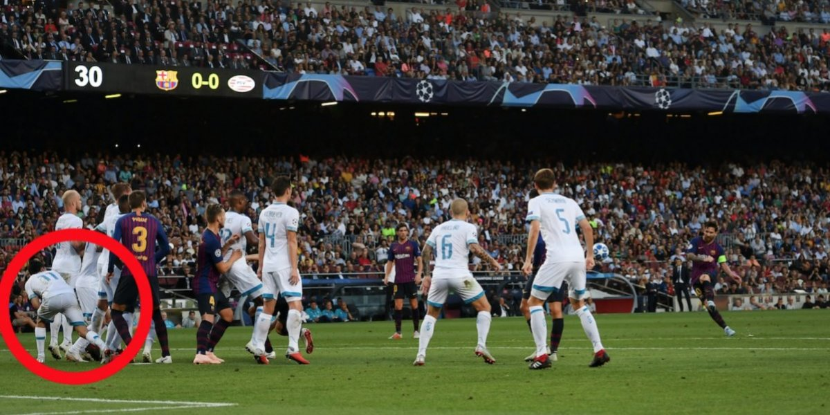 VIDEO: La estrategia de 'Chucky' para buscar impedir el primer gol de Messi