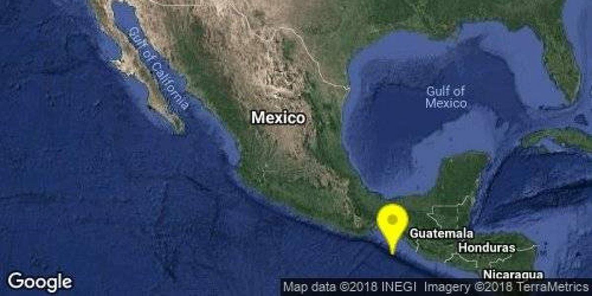 Se registran cuatro sismos en Chiapas