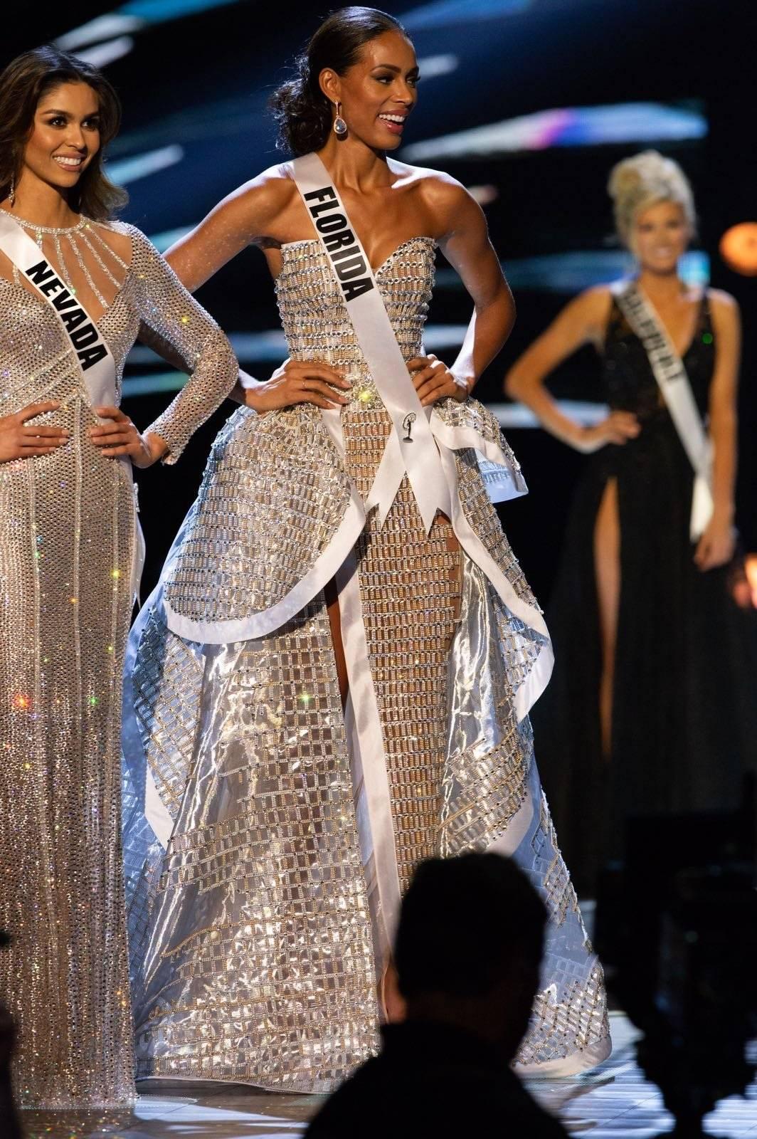 Génesis Dávila en Miss USA 2018. Fotos: suministradas