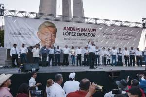 AMLO en Mexicali