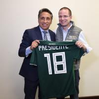Ricardo Anaya y Manuel Negrete