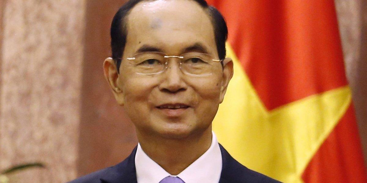 Muere presidente de Vietnam a los 61 años