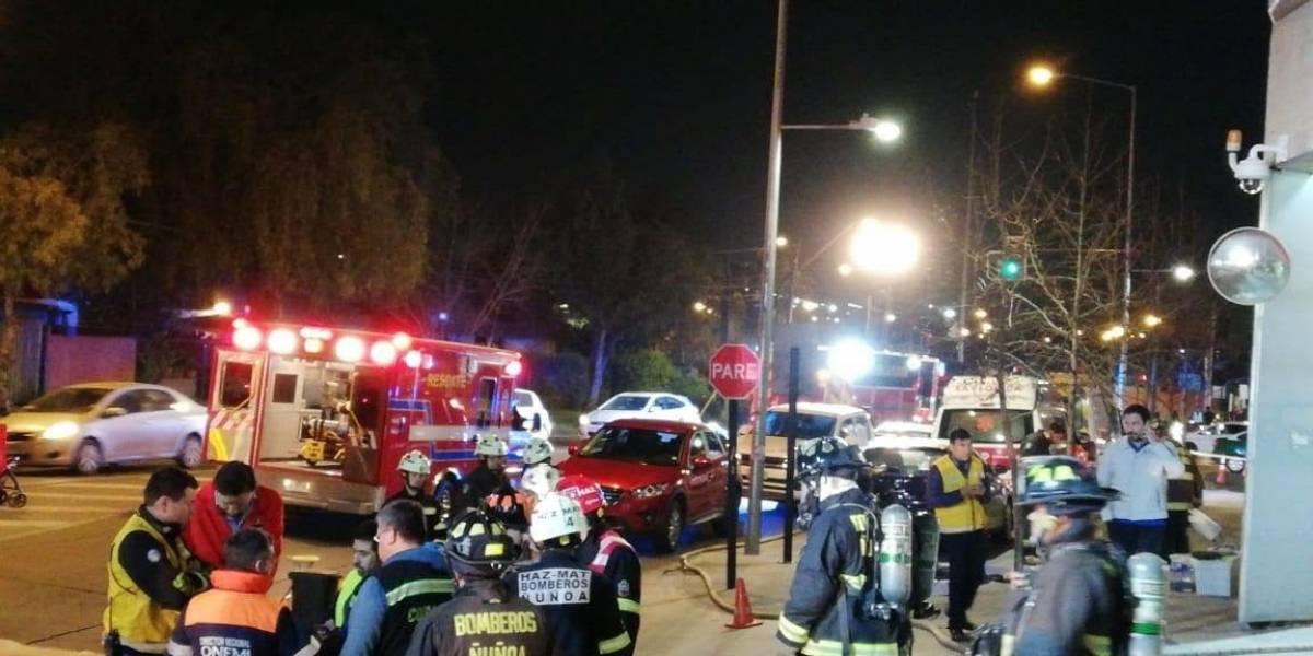 Evacuaron a 40 pacientes del Hospital Luis Tisné por inundación de dos pisos