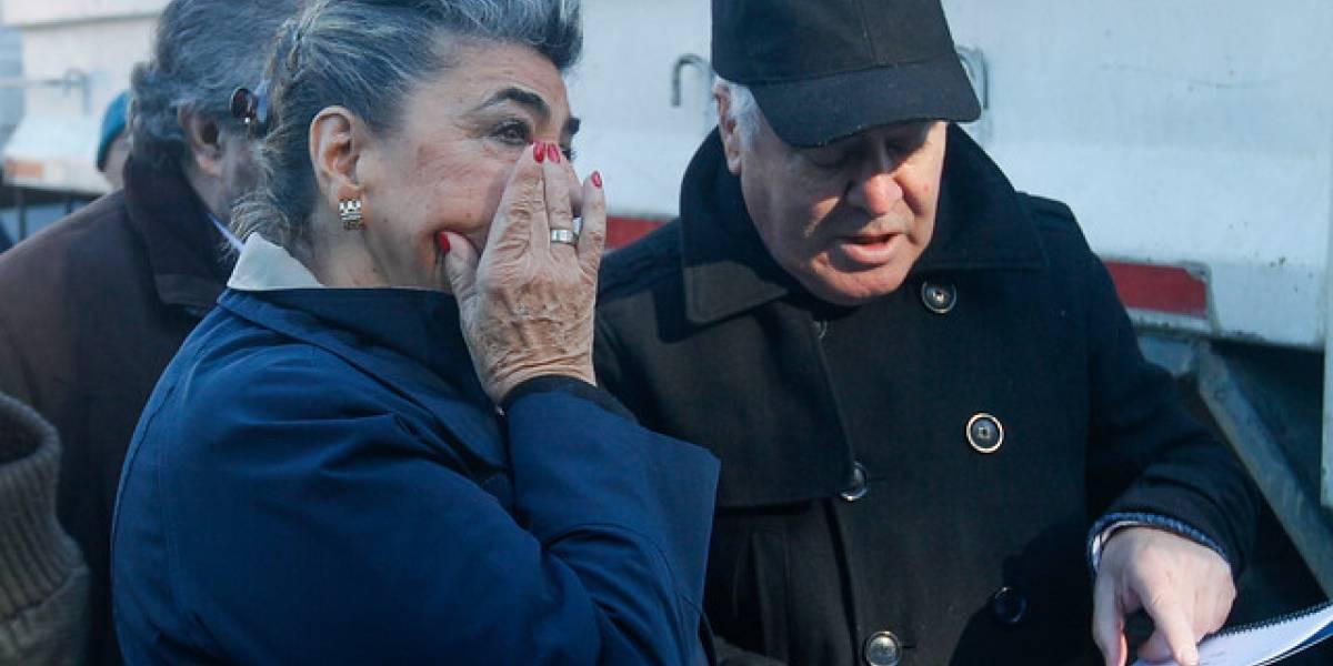 """""""¡Me importa una r...!"""": la furia de Virginia Reginato contra dirigentes de campamentos de Viña del Mar"""