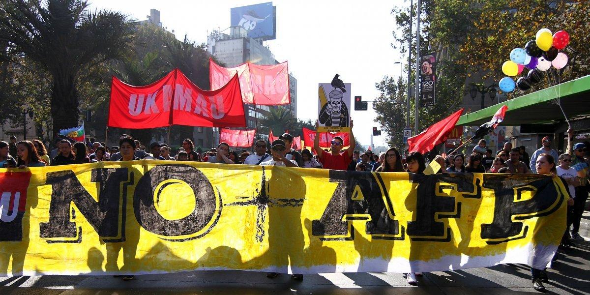 Coordinadora No+AFP anuncia marchas en todo Chile para el 24 de octubre