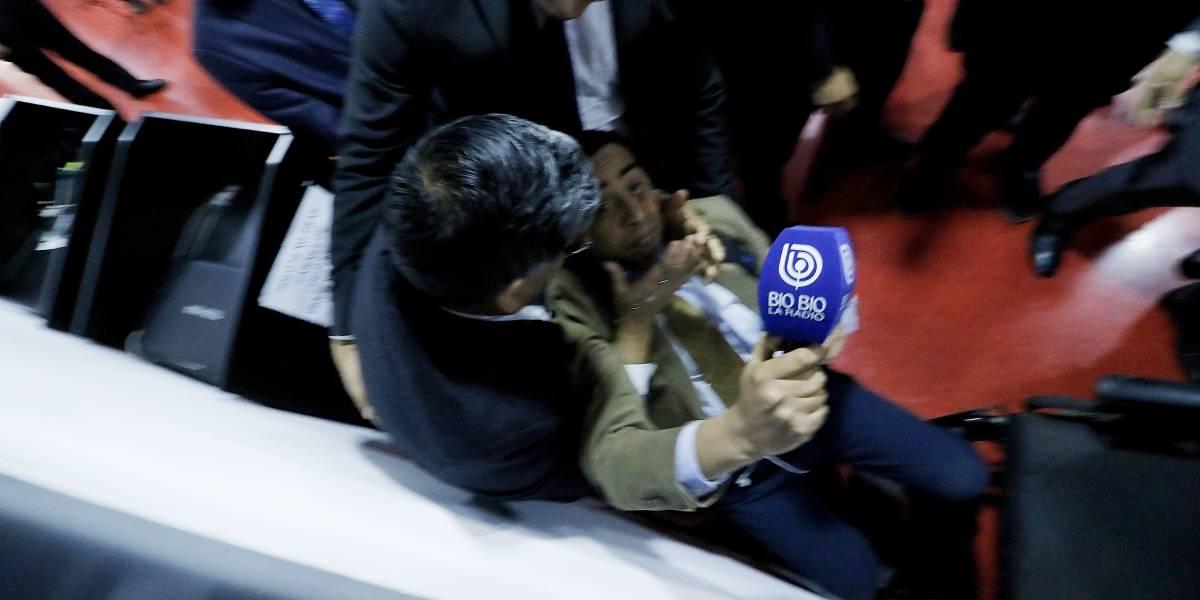 """""""Nadie lo mandó"""": Iglesia evangélica se lava las manos sobre caso de periodista agredido en Te Deum"""