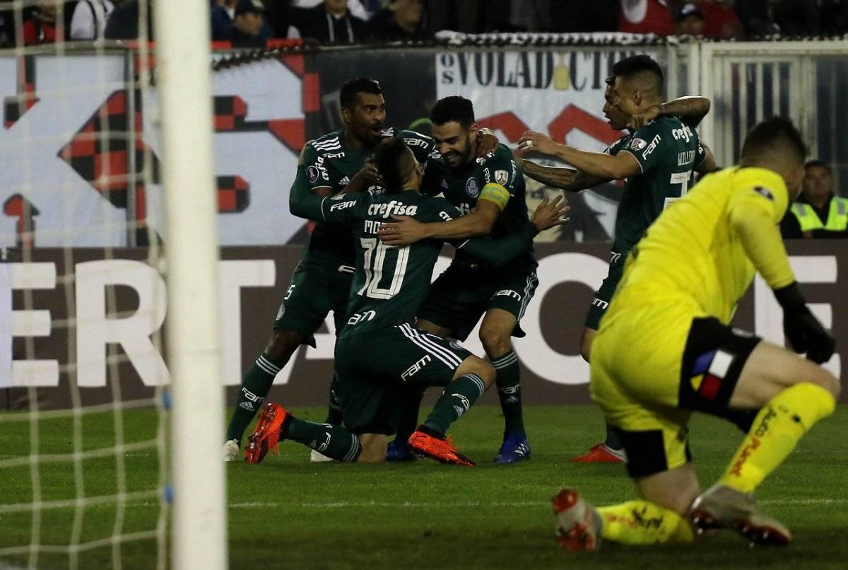 El gol que cambió los planes de Colo Colo / imagen: Agencia UNO