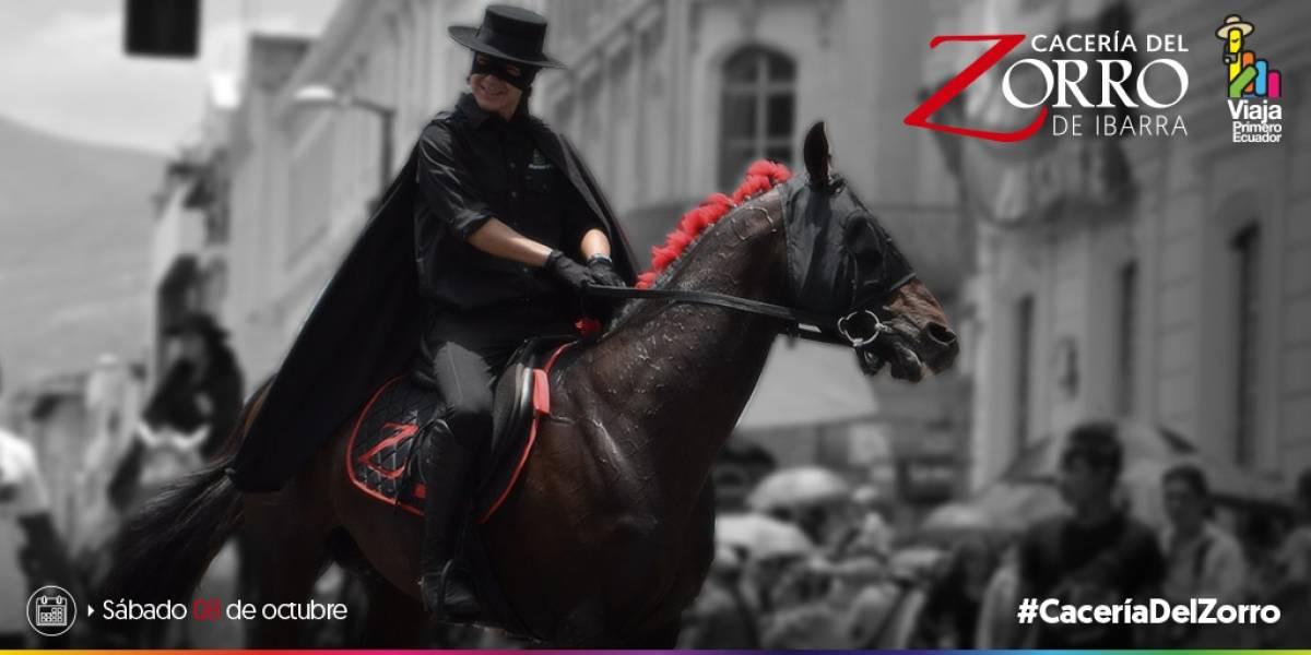 Cacería del Zorro 2018 de Ibarra se aplaza para el 27 de octubre