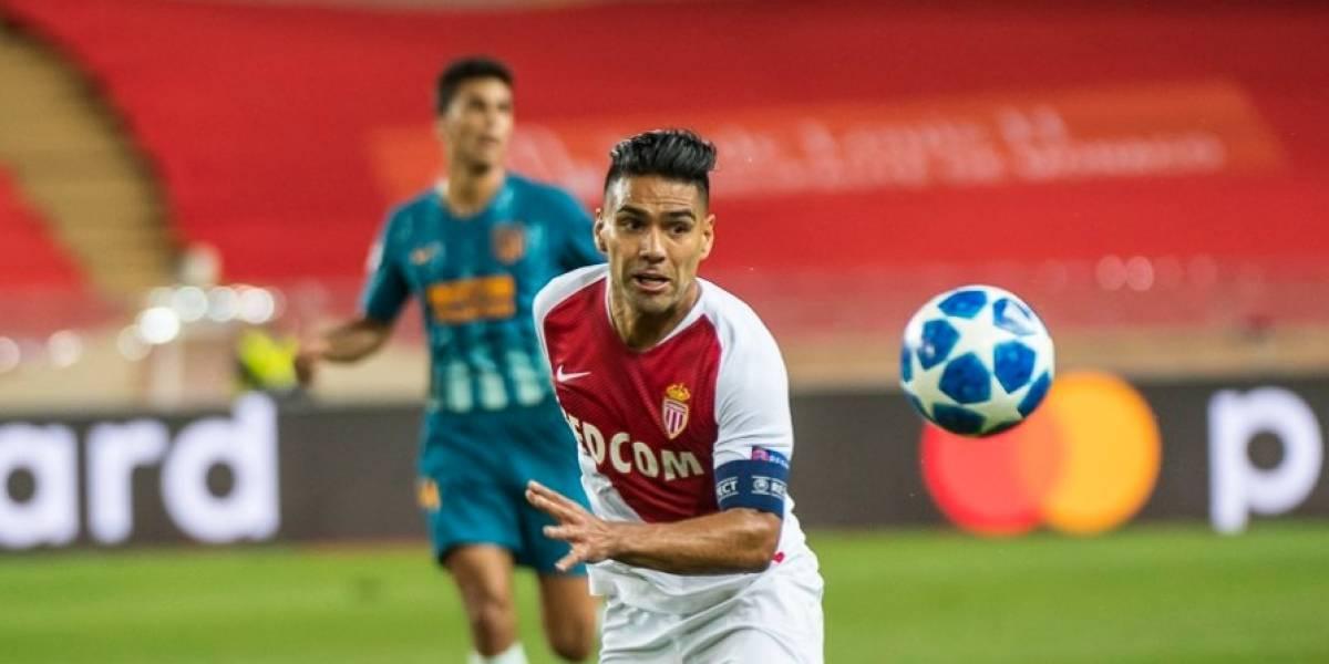 Falcao y el Mónaco esperan revivir en Dortmund