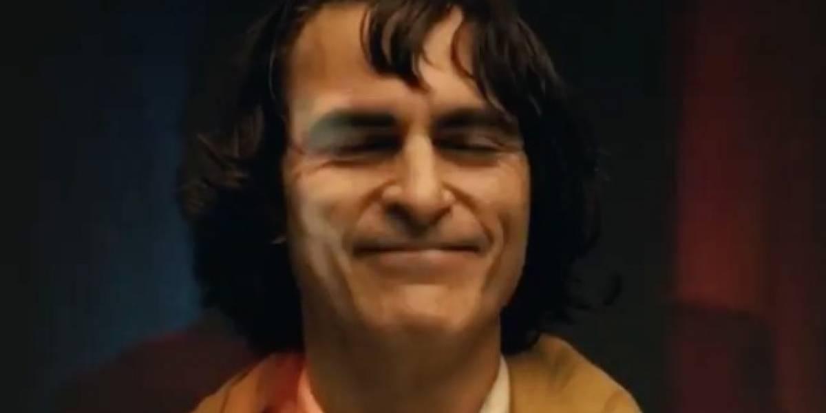 Joker: revelan la primera imagen de Joaquín Phoenix maquillado como el villano de Batman