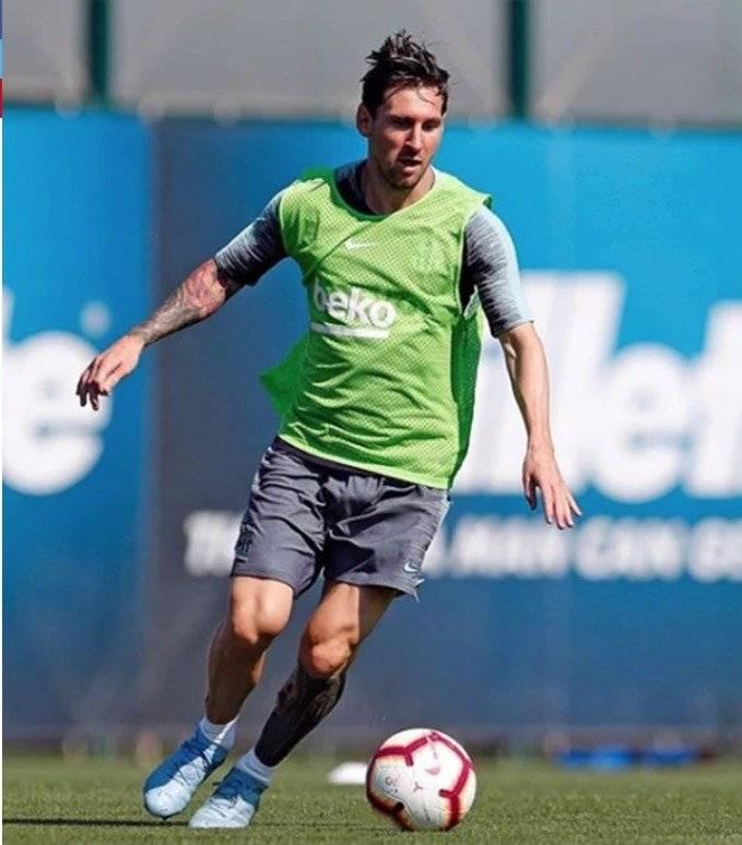El cambio de look de Lionel Messi