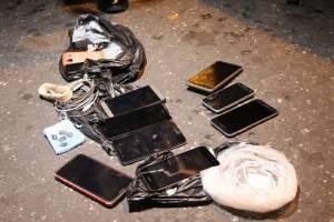capturados con droga y celulares en zona 1
