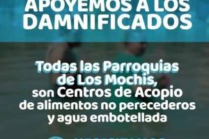 Centro de Acopio para damnificados en Sinaloa