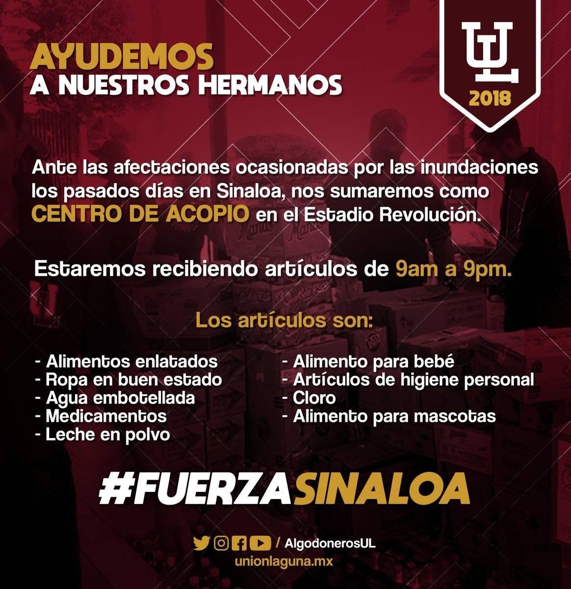 El Estadio de la Revolución de los Algodoneros, de la Unión Laguna, en Torreón, Coahuila Foto: Twitter