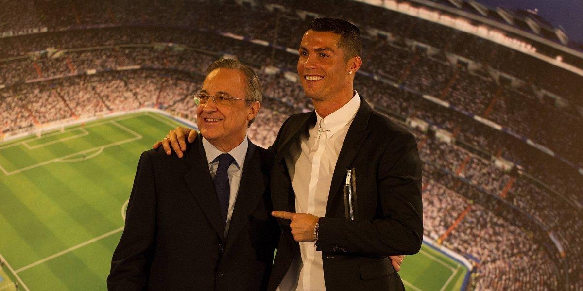 Presidente del Real Madrid reveló los motivos de la salida de Cristiano Ronaldo