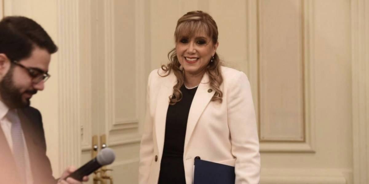 Magistrada Ochoa no representó a la CC en la Casa Blanca