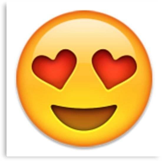 Piscis: Los piscianos son los más románticos de todo el zodíaco, por lo que les sienta bien la cara con ojos de corazón.