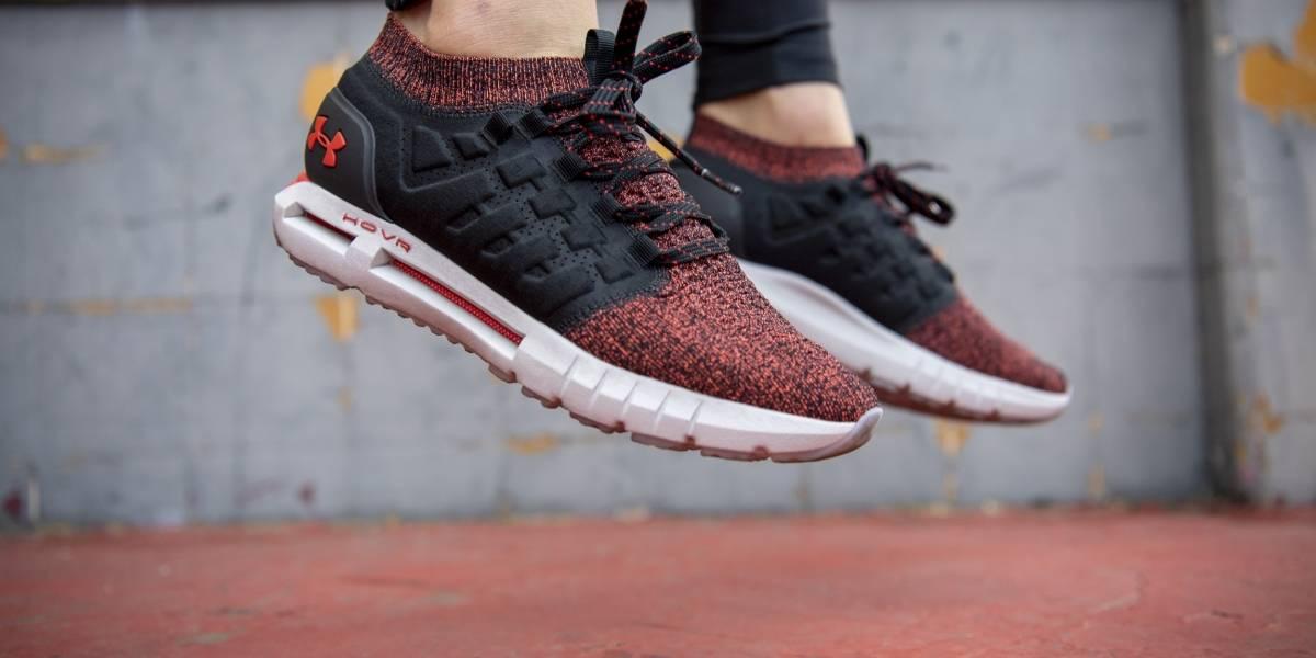 Zapatillas con retorno de energía, innovación para corredores