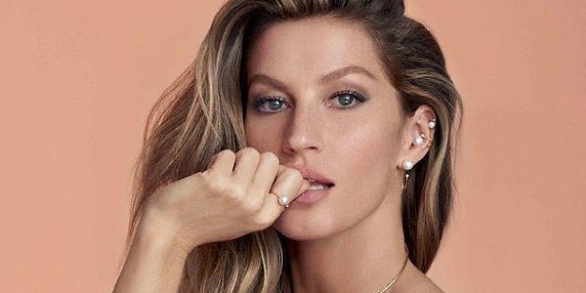 La supermodelo Gisele Bündchen se transformó para la portada de Vogue