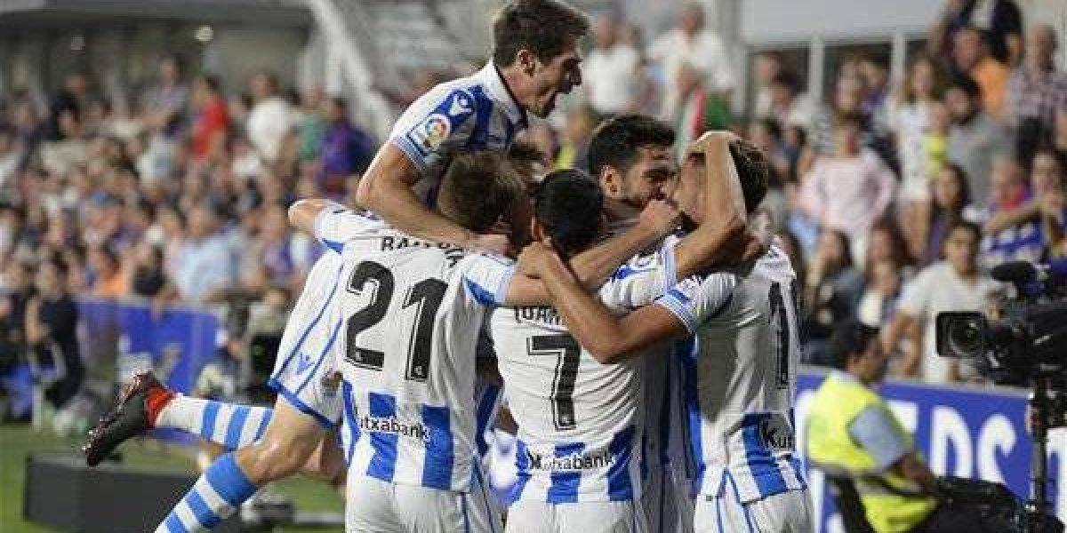 Héctor Moreno y Real Sociedad obtienen triunfo sobre Huesca