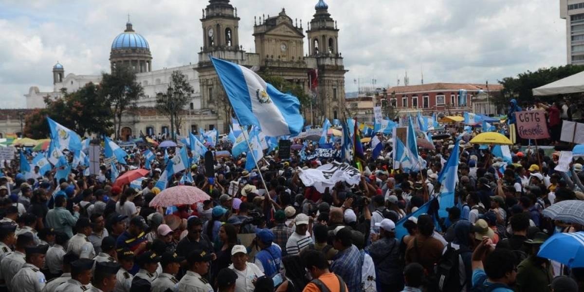 #20S: Con una verdadera manifestación de un pueblo unido, guatemaltecos rechazan la corrupción