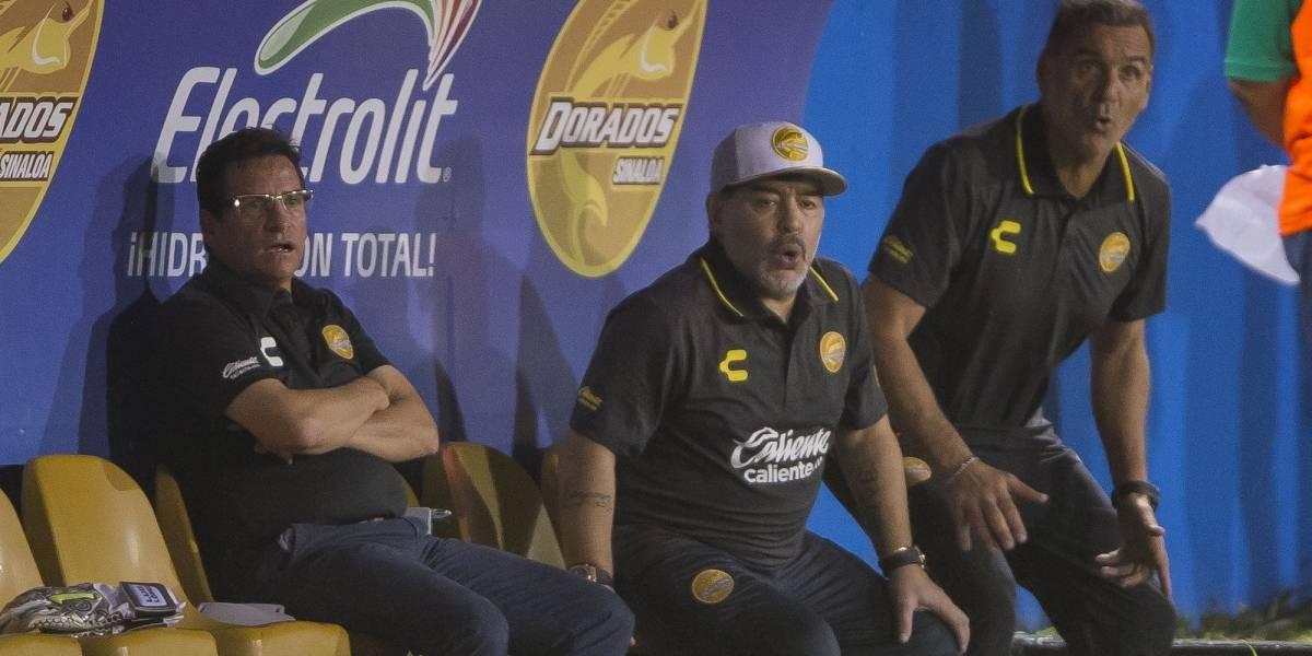 Revela auxiliar de Maradona que algunos jugadores de Dorados no lo conocían