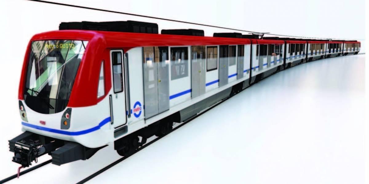 Tres logos compiten para identificar al Metro de Quito