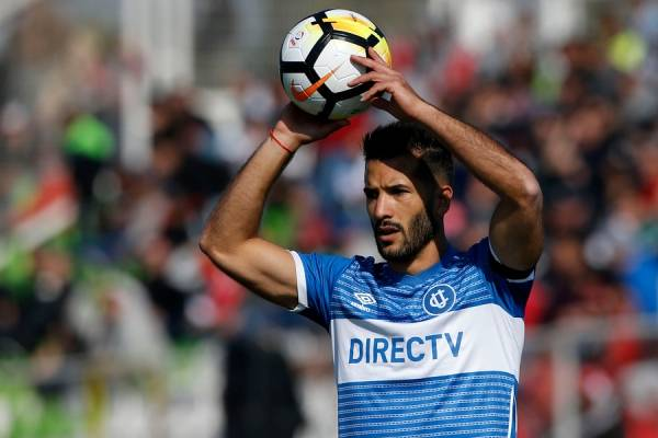 Germán Voboril llegó a mediados de 2017 a la UC. Tiene contrato hasta diciembre de 2018 / Foto: Photosport