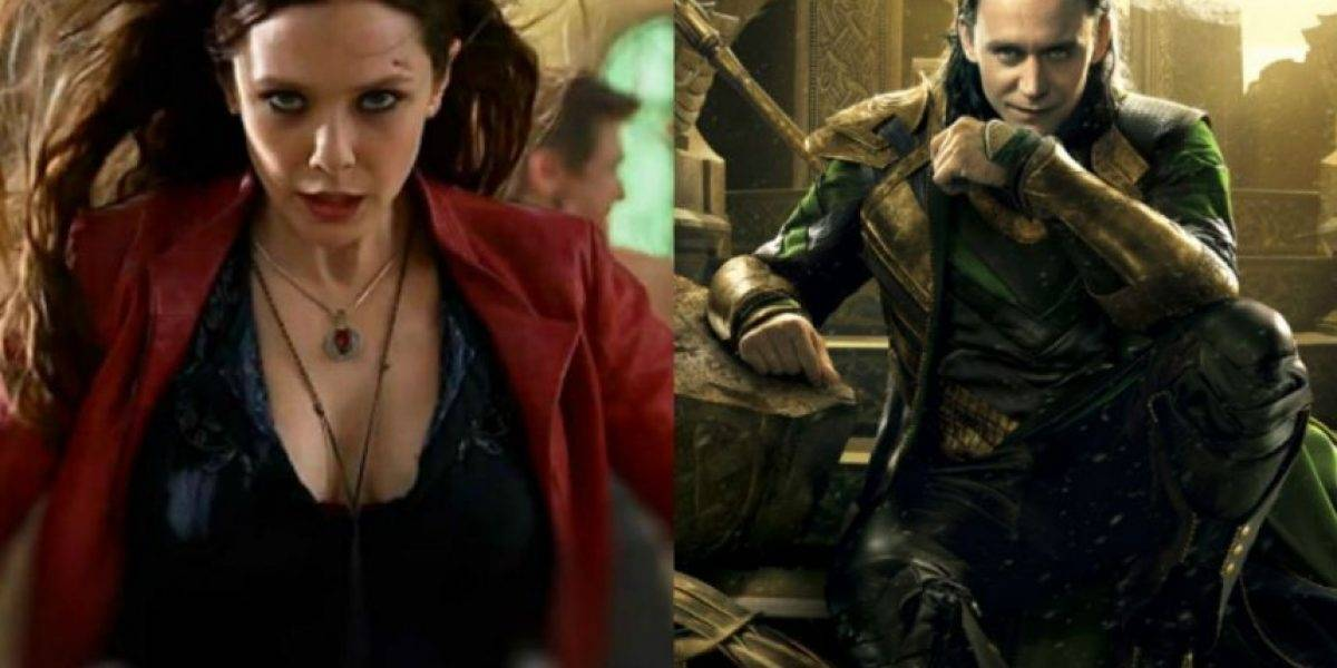 Marvel lanzará serie Loki y Scarlet Witch en Disney Play