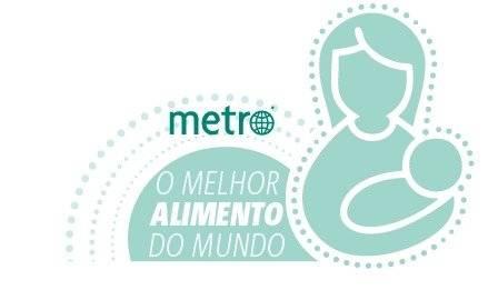 amamentação - metro