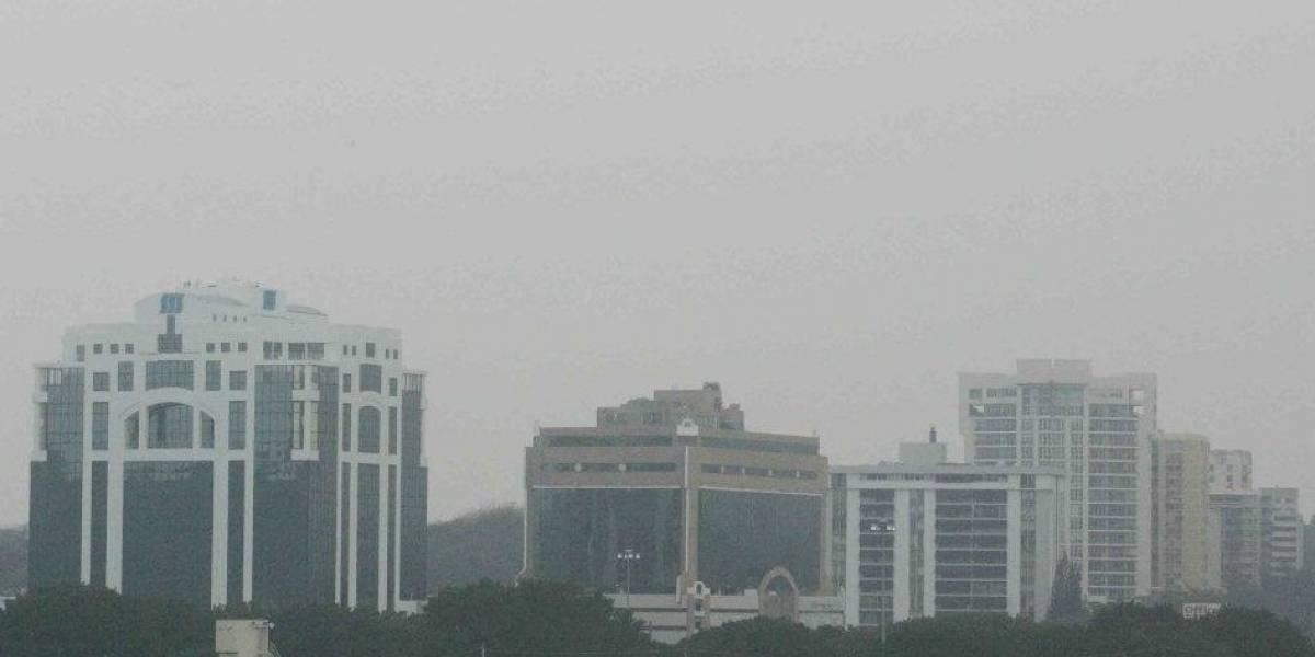 Así se ve la nueva nube de polvo del Sahara que se aproxima a Puerto Rico