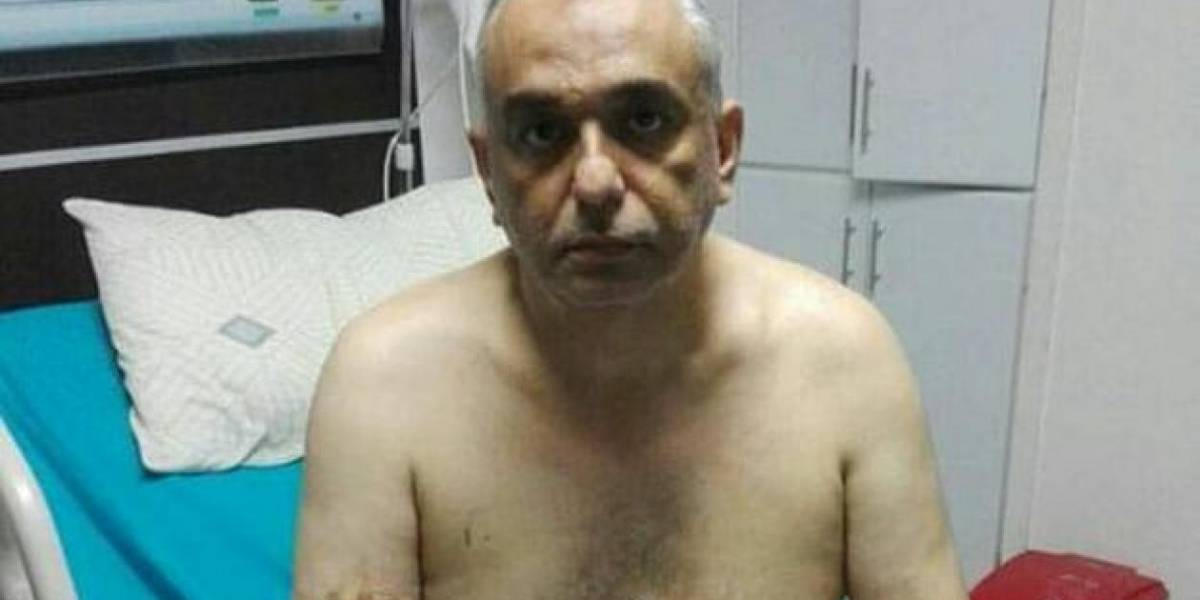 Engañó con una pizza al custodio, lo durmió y huyó de hospital hombre buscado por la Interpol