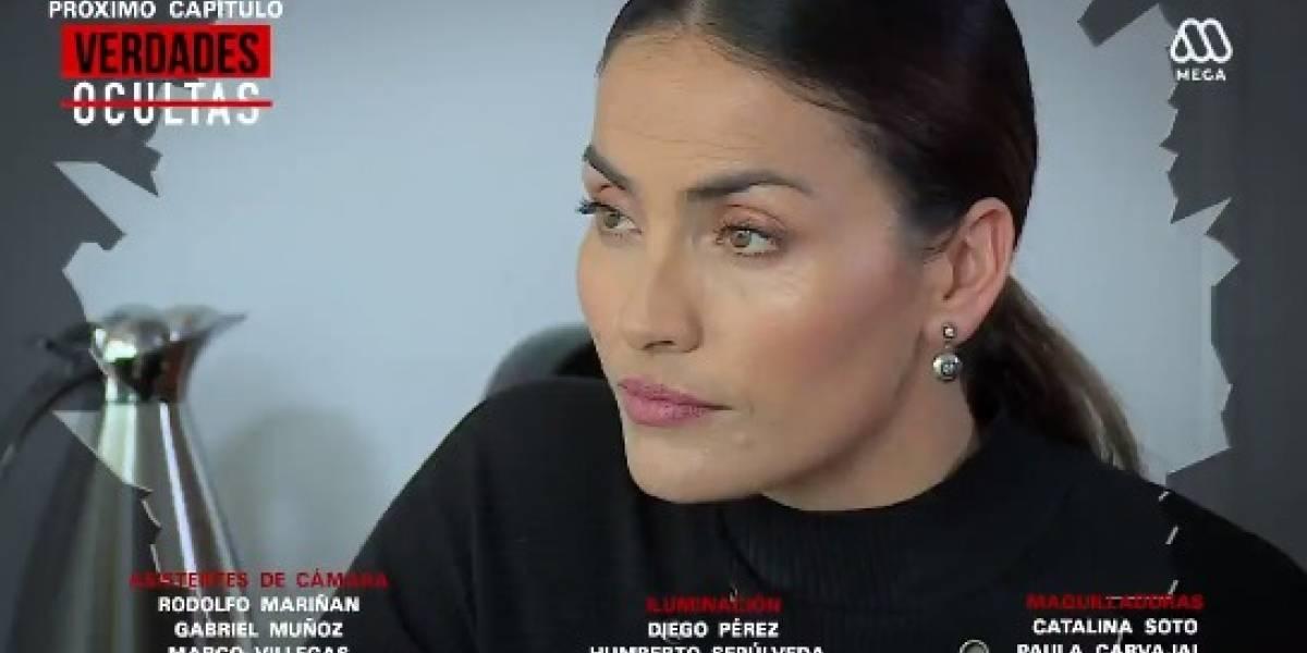"""Carmen Gloria Bresky regresó a """"Verdades Ocultas"""" con un nuevo personaje"""