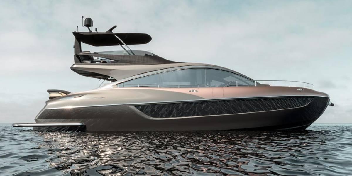 Se lanza al agua: Lexus anuncia una lancha de lujo y altas prestaciones