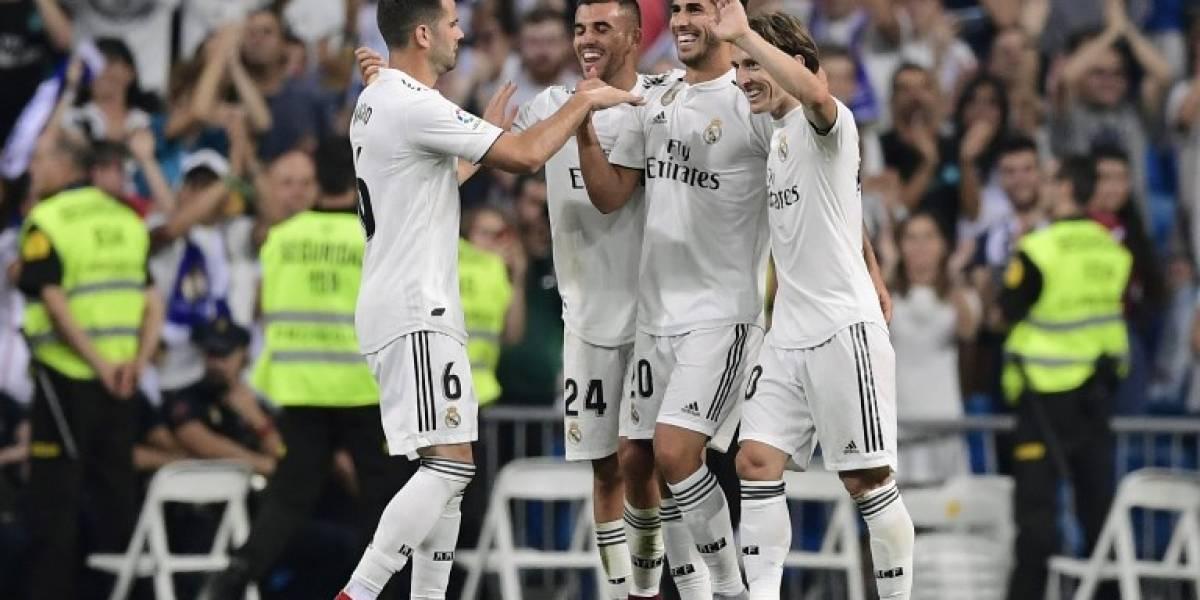 """Asensio y el VAR llenan de alegría a un """"tímido"""" Real Madrid"""