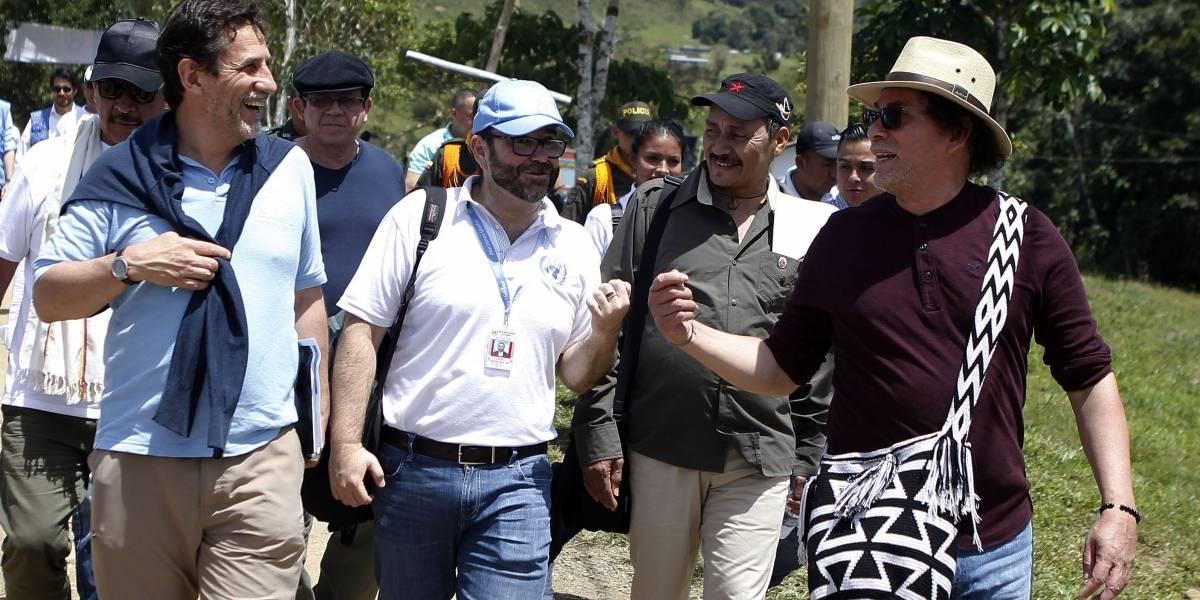 Excombatientes de las Farc conmemoraron el Día Internacional de la Paz